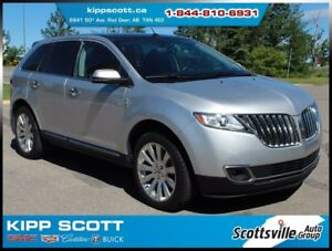 2015 Lincoln MKX AWD, Leather, Nav, Sunroof, Adaptive Cruise