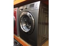 SAMSUNG 7KG 1200 SPIN GRAPHITE WASHING MACHINE RECONDITIONED