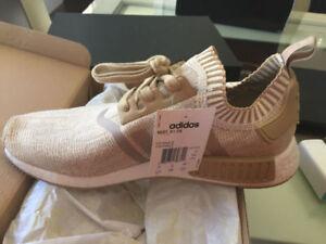 Adidas NMD R1 PrimeKnit Linen Khaki - DeadStock 10.5