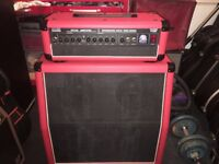 White Horse T64RS Guitar amplifier (head and 4x8 cabinet)