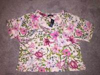 Brand new M&S summer top