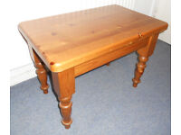 Solid Pine Side Table, Lamp Table, or Coffee Table