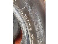 Car tyre 215/60r 15