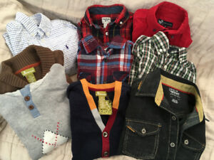 Fall lot of boys clothes