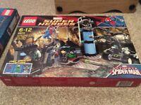 Lego Super Heroes Spidermans Doc ock Ambush 6873 NEW