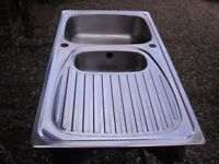 Stainless steel 1.5 bowl sink for sale