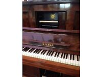 Pianola piano antique musical item Welmar musician