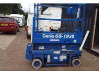 Genie scissor lift Gs1930 like skyjack jlg cherry picker mewp