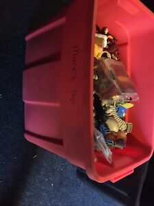 Big box of toys/ action figures