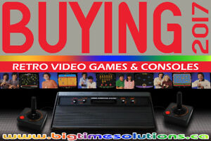 BUYING BUYING BUYING RETRO VIDEO GAME COLLECTIONS NINTENDO SEGA