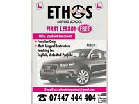 Ethos Driving School (female driving school)
