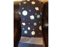 Dunelm Mill Space Themed Curtains