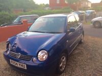 Volkswagen Lupo for sale (written off, damage shown in photos, everything else in PERFECT condition)