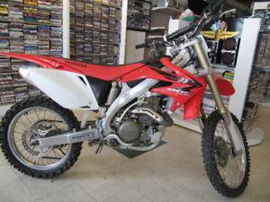 Honda 450CRF Dirt Bike For Sale