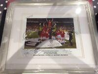 Manchester United UEFA Champions League 1999 Treble winning Team