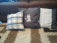 3 stunning cushion