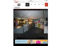 Chipshop business catering burger cafe