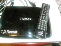 HUMAX FREESAT BOX