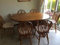 Large Kitchen Pine Table