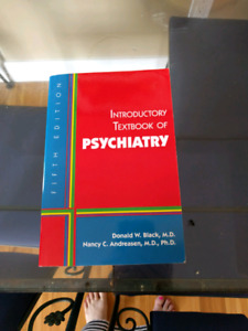 Intro to psychiatry textbook 5th edition