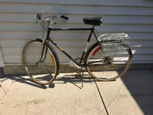 Vintage Raleigh Sprite Suntour Road Bike