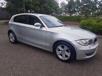 BMW 1 SERIES 2.0 120d SE 5dr MINT CONDITION