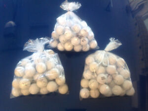$10 for 36 used clean mostly Titleist golf balls