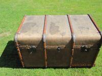 Vintage Travel Trunk