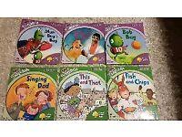 6 Oxford tree Phonics Kids educational books