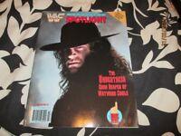RARE WWF / WWE WRESTLING SPOTLIGHT MAGAZINE VOLUME NO 16 THE UNDERTAKER