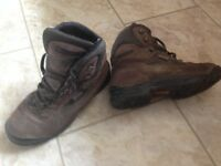 Walking/climbing boots, women's sized 7, bought as walking boots but very rigid so good for climbing