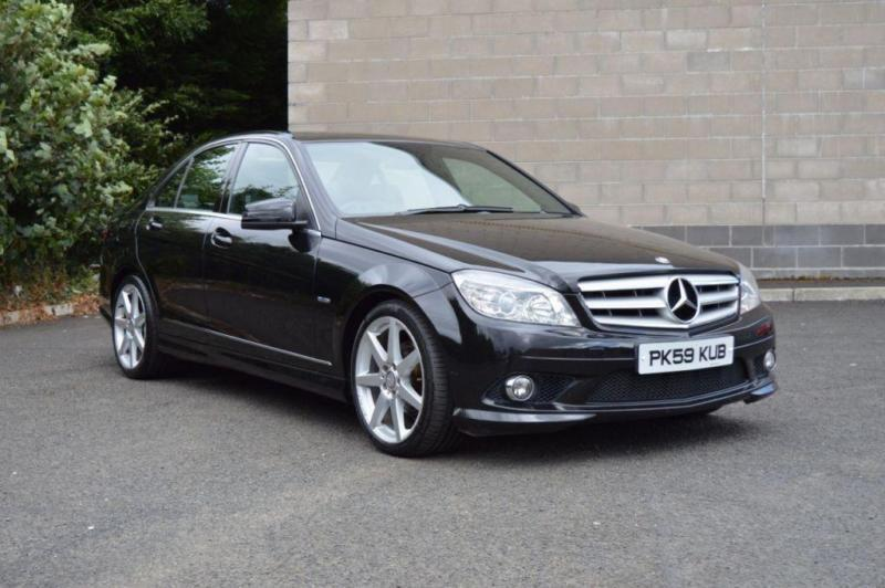 2009 59 MERCEDES-BENZ C CLASS 2.1 C220 CDI BLUEEFFICIENCY AMG 4D AUTO 170 BHP D