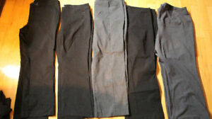 5 pairs of dress pants size 20 petite