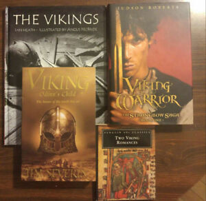Vikings Lovers Hear This! - history and 2 novels and 1 classic