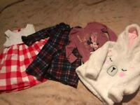 Large girls clothing bundle 12-18 months