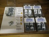 BNIB 135 concealed decking clips and nails galvanized collect or deliver Stonehaven