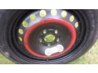 ford mondeo / jaguar space saver / wheel & tyre