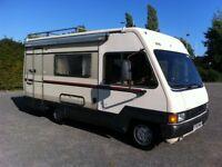 Talbot express 1400 2.5 turbo diesel motor home 1989 f reg