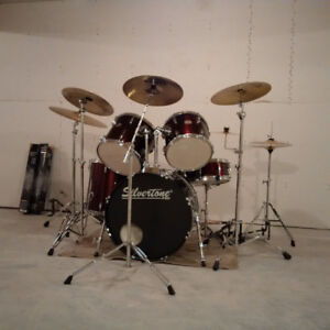 Drum Kit for Sale - Lots of add-ons.
