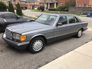 1989 Mercedes Benz 420 SEL -original everything - no accidents