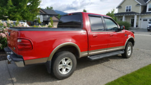 03 Ford F-150 Supercrew Lariat