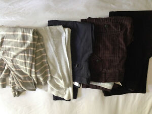 Womens pants/sweaters - good quality