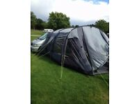 Mercedes V230 Auto 4 berth campervan with pop up roof, side awning and back box.