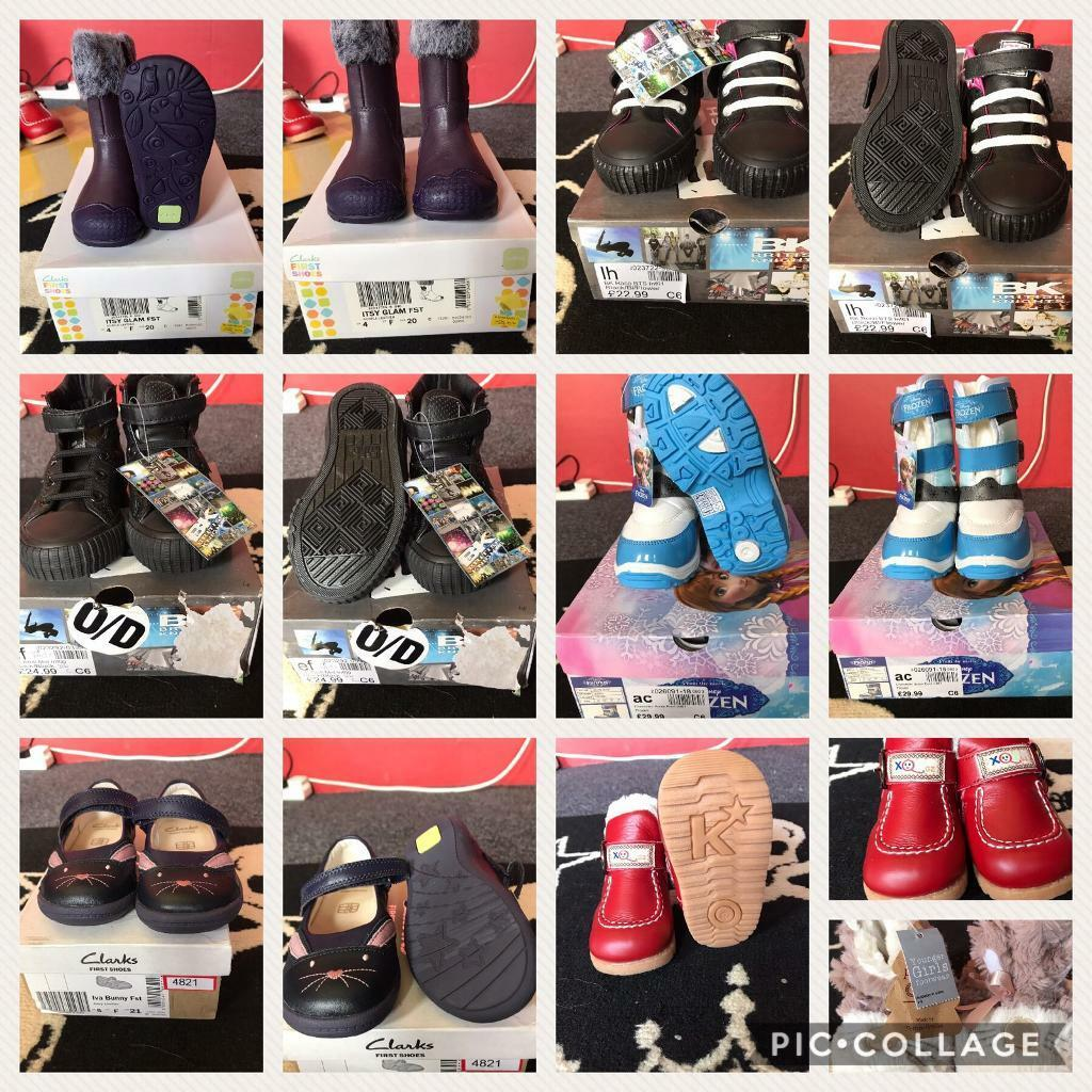 BRAND NEW Young girls shoes and boots