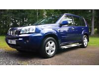 Nissan Xtrail 2004 2.2 (136ps)SVE, Diesel, 4x4, 6 speed manual, Leather