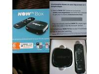 Brand new Now Tv box with 6 month entertainment pass