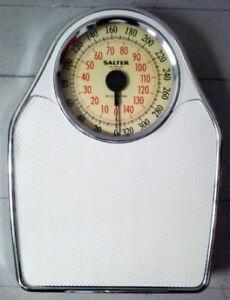 Vintage SALTER Personal Analogue SCALE Weight Antique