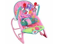 Immaculate fisher price infant to toddler rocker