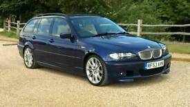 BMW 325 TOURING AUTOMATIC FULL SERVICE HISTORY CHAMPAGNE LEATHER E 46