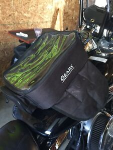 Gears motorcycle magnet bag for $20